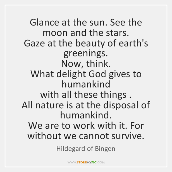 Glance At The Sun See The Moon And The Stars Gaze At Storemypic
