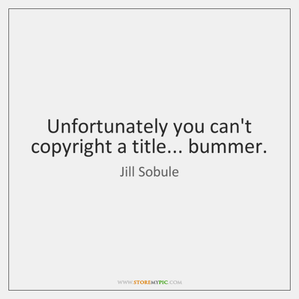 Unfortunately you can't copyright a title... bummer.