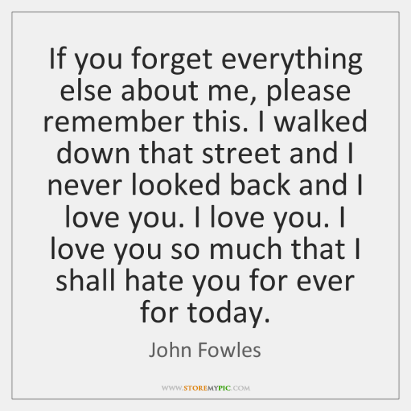 John Fowles Quotes Storemypic