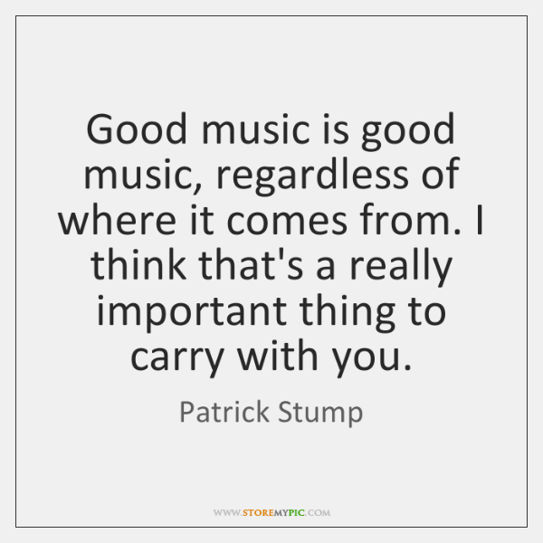 Patrick Stump Quotes - - StoreMyPic