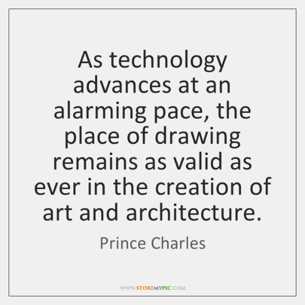 As technology advances at an alarming pace, the place of drawing remains ...