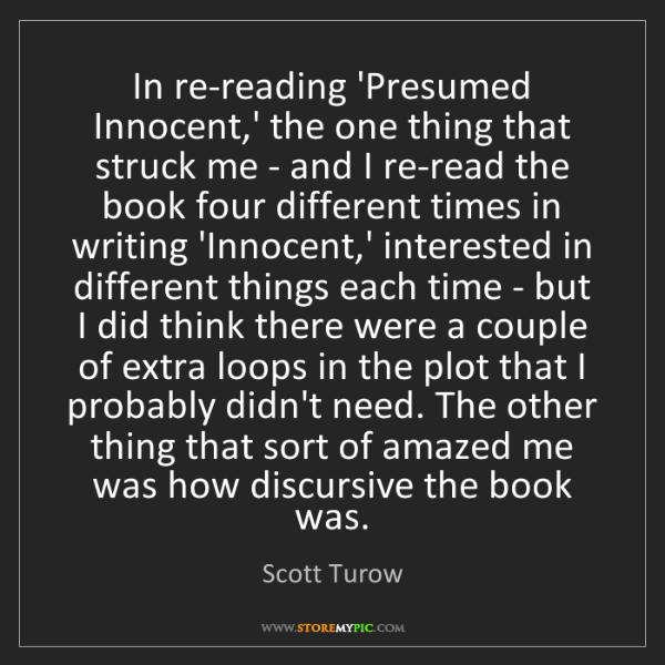 loops storemypic search - Presumed Innocent Book
