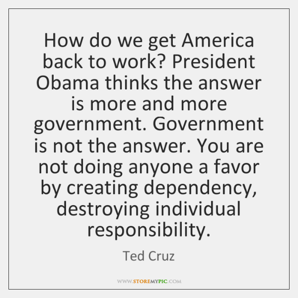How do we get America back to work? President Obama thinks the ...