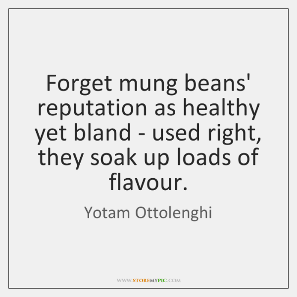 Forget mung beans' reputation as healthy yet bland - used right, they ...