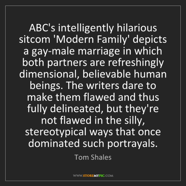Tom Shales: ABC's intelligently hilarious sitcom 'Modern Family'...