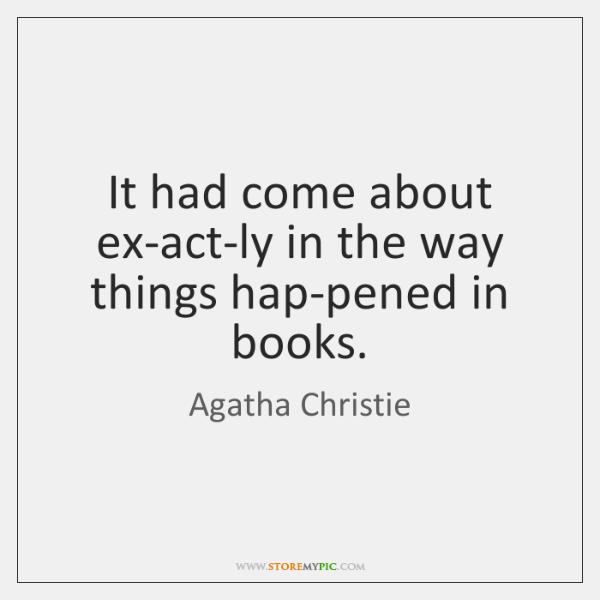 Agatha Christie Book Quotes