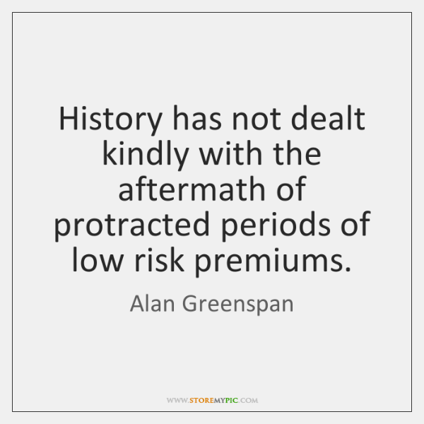 History has not dealt kindly with the aftermath of protracted periods of ...