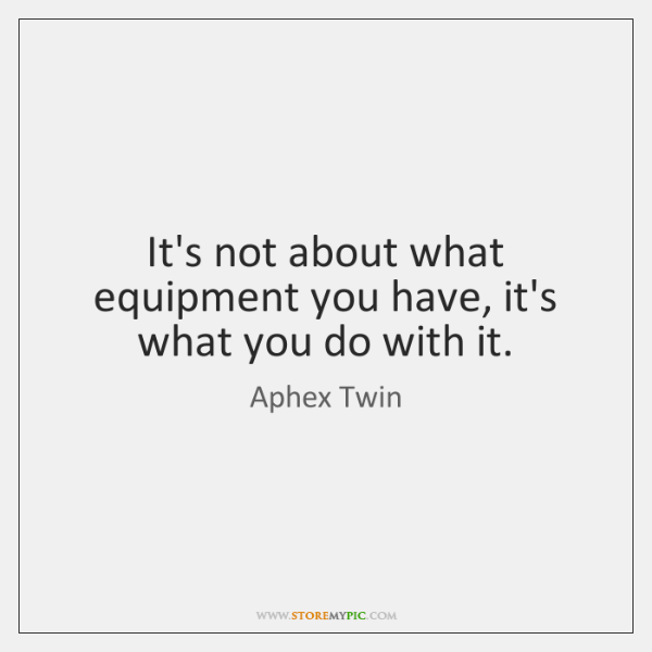 Aphex Twin Quotes StoreMyPic Fascinating Twin Quotes