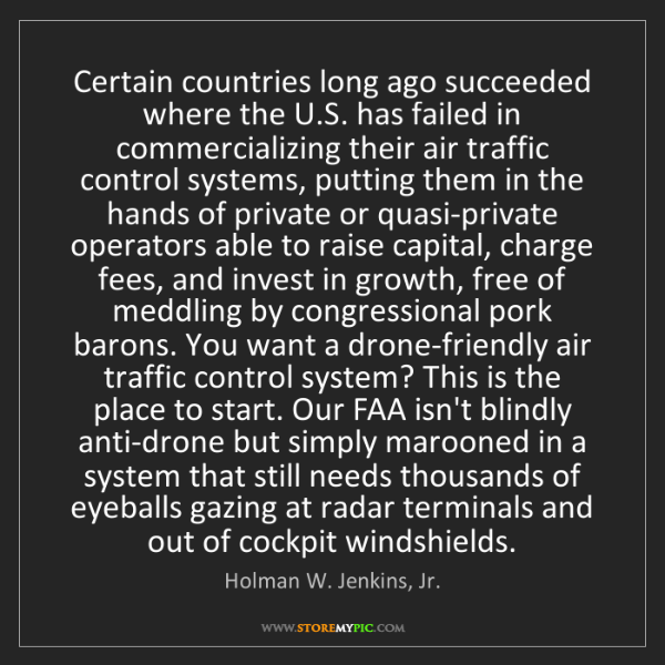 Holman W. Jenkins, Jr.: Certain countries long ago succeeded where the U.S. has...