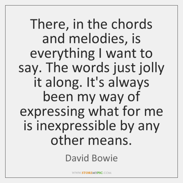 David Bowie Quotes - StoreMyPic
