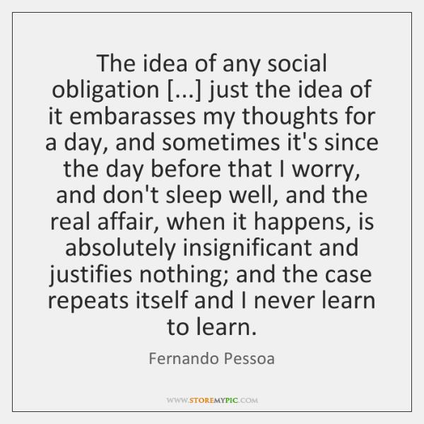 social obligation