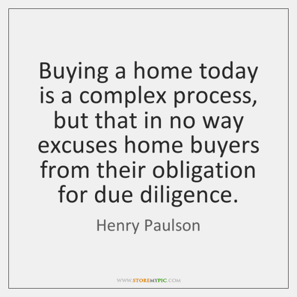 Buying a home today is a complex process, but that in no ...