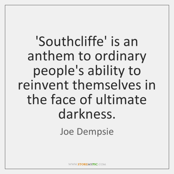 'Southcliffe' is an anthem to ordinary people's ability to reinvent themselves in ...