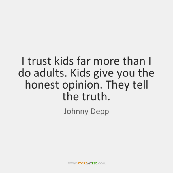 trust quotes for kids