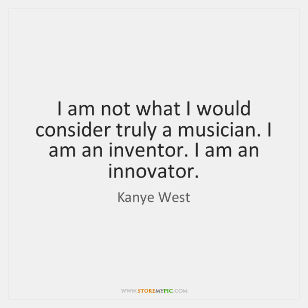 I am not what I would consider truly a musician. I am ...