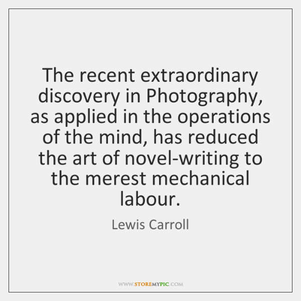 The recent extraordinary discovery in Photography, as applied in the operations of ...
