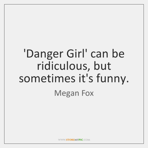 'Danger Girl' can be ridiculous, but sometimes it's funny.