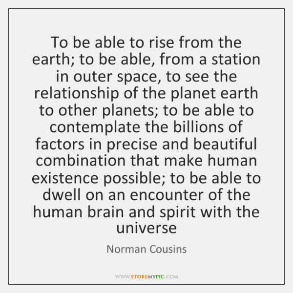 To be able to rise from the earth; to be able, from ...