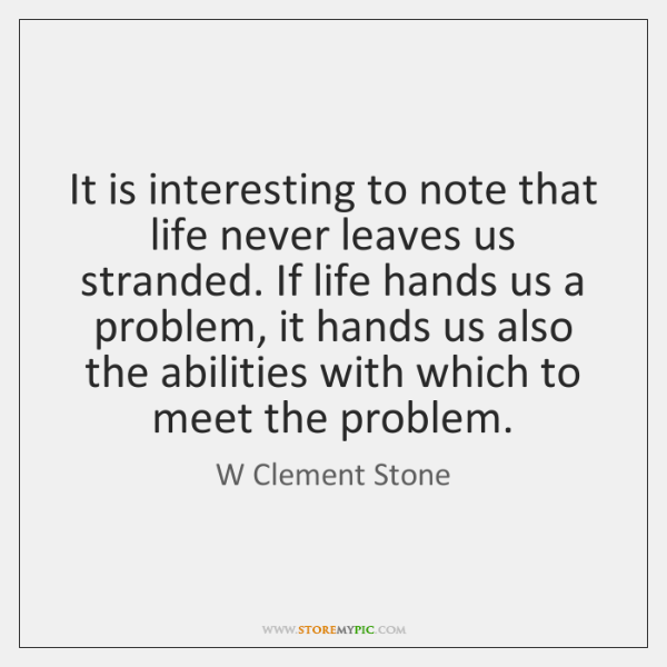 W Clement Stone Quotes Storemypic