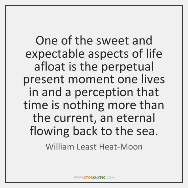 One of the sweet and expectable aspects of life afloat is the ...