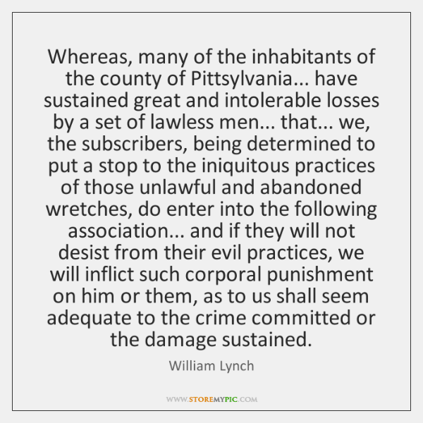 Whereas, many of the inhabitants of the county of Pittsylvania... have sustained ...