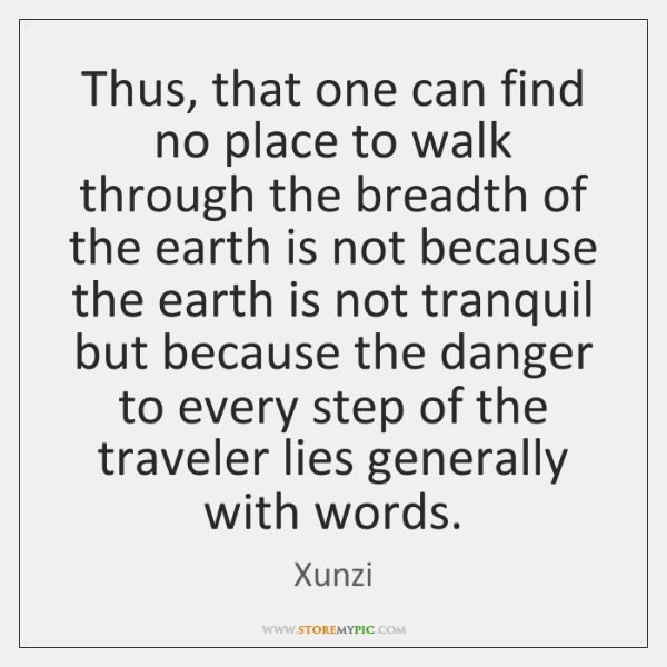 Thus, that one can find no place to walk through the breadth ...