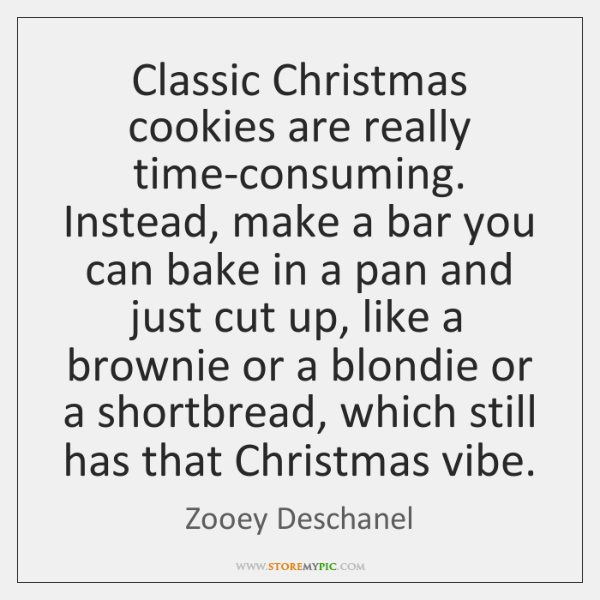 Classic Christmas cookies are really time-consuming. Instead, make a bar you can ...