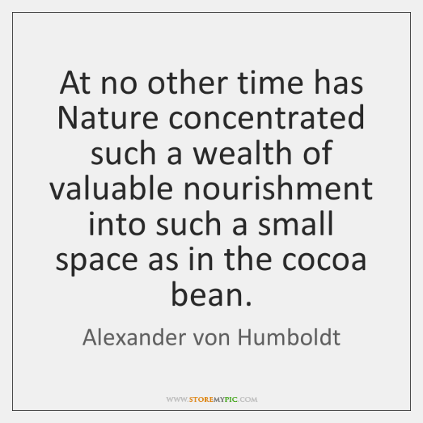 At no other time has Nature concentrated such a wealth of valuable ...