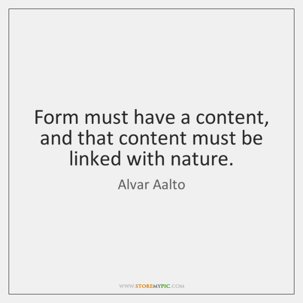 Form must have a content, and that content must be linked with ...