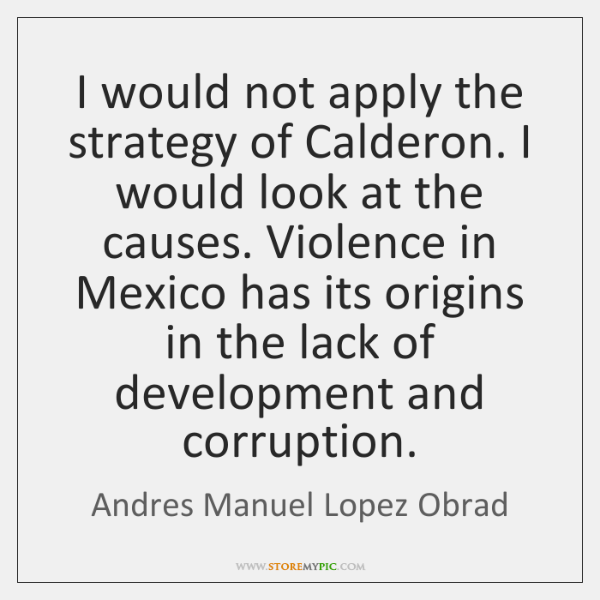 I would not apply the strategy of Calderon. I would look at ...