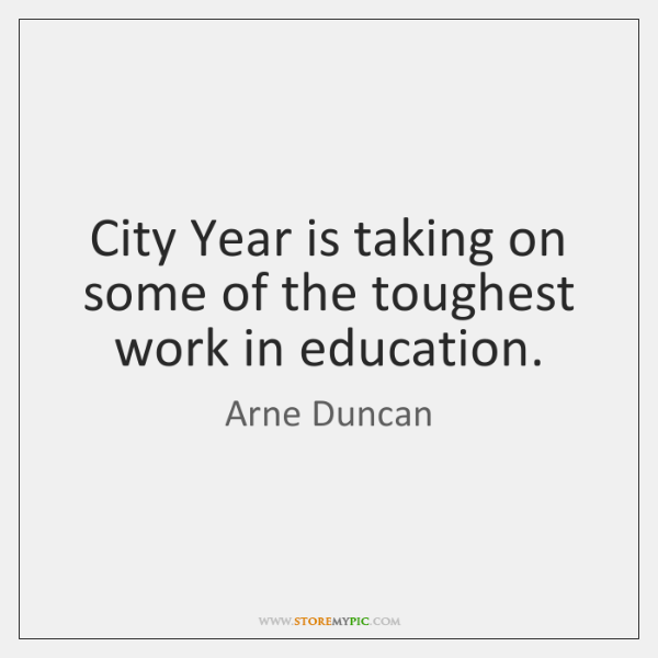 City Year is taking on some of the toughest work in education.
