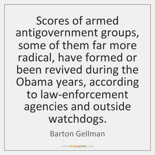 Scores of armed antigovernment groups, some of them far more radical, have ...