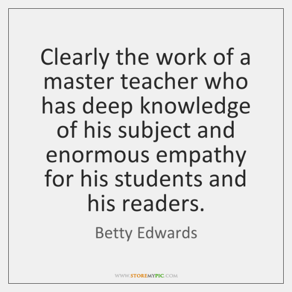 Clearly the work of a master teacher who has deep knowledge of ...