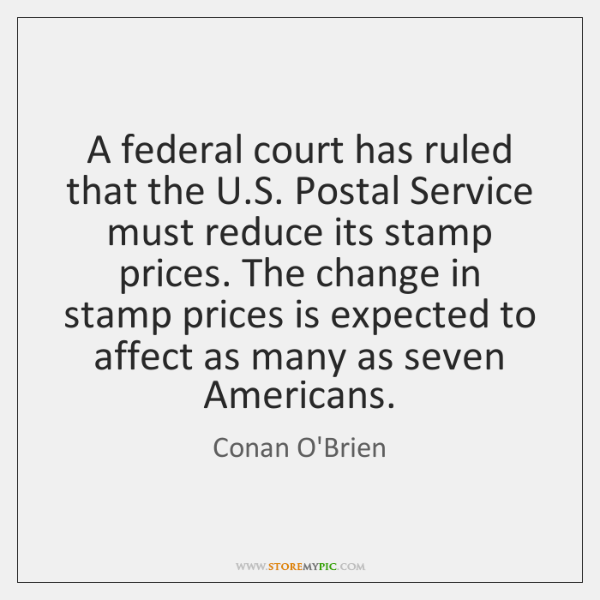 A federal court has ruled that the U.S. Postal Service must ...