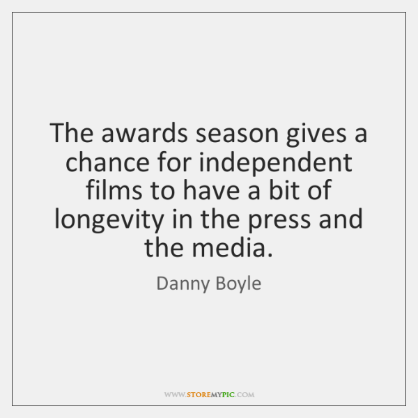 The awards season gives a chance for independent films to have a ...