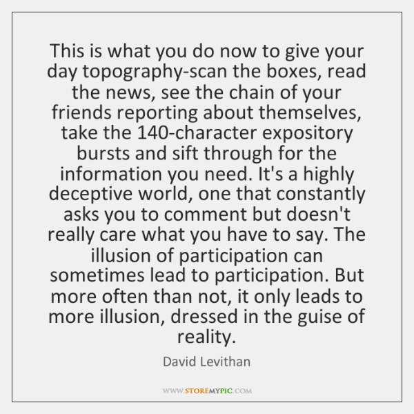 This is what you do now to give your day topography-scan the ...