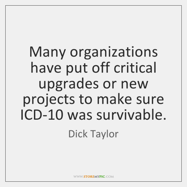 Many organizations have put off critical upgrades or new projects to make ...