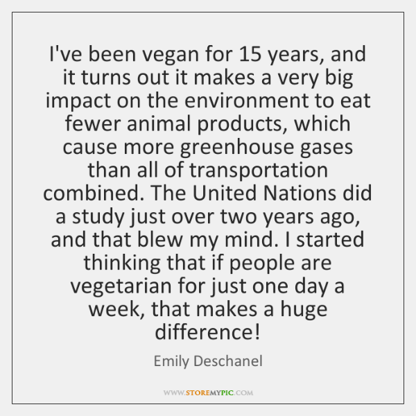 I've been vegan for 15 years, and it turns out it makes a ...