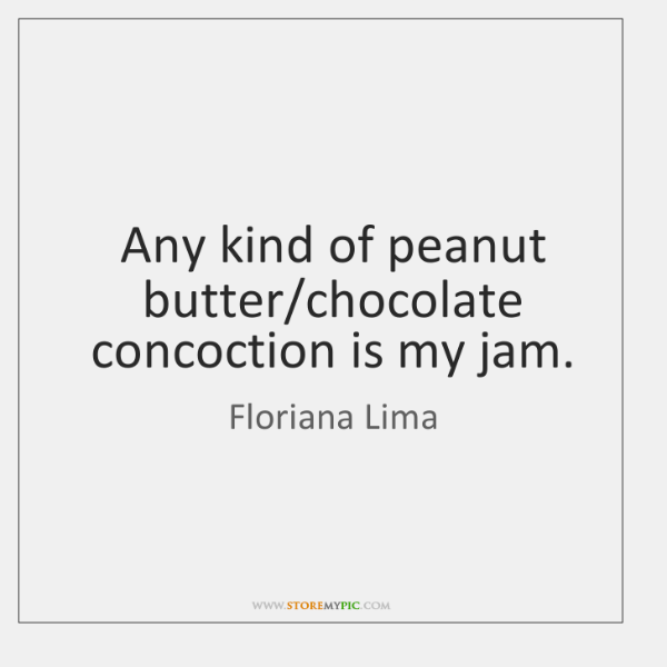 Any kind of peanut butter/chocolate concoction is my jam.