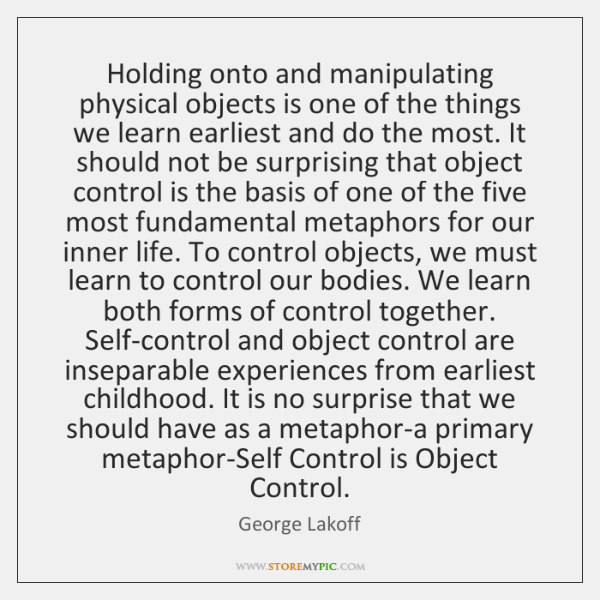 Holding onto and manipulating physical objects is one of the things we ...