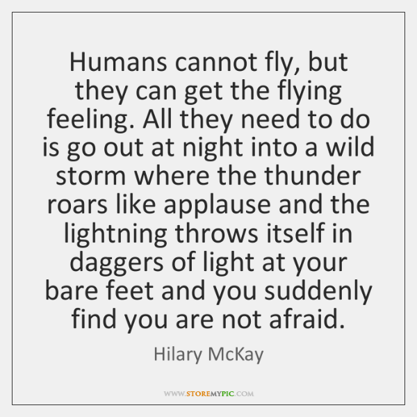 Humans cannot fly, but they can get the flying feeling. All they ...