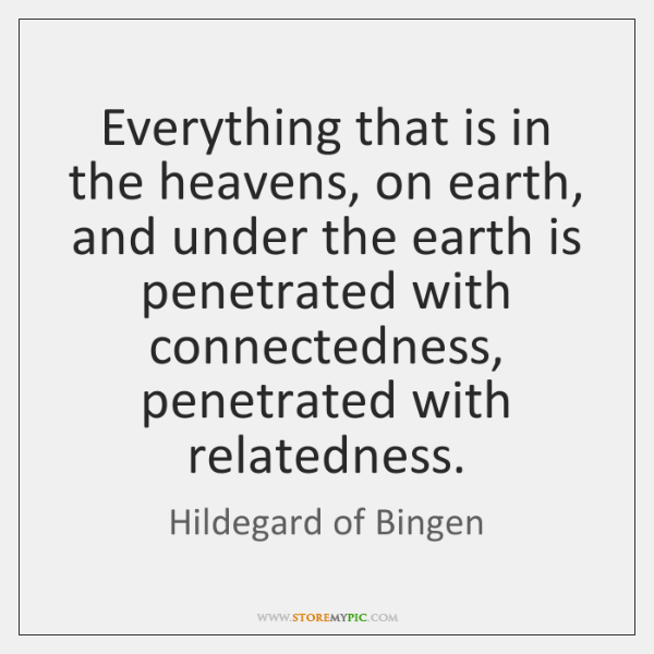 Everything that is in the heavens, on earth, and under the earth ...