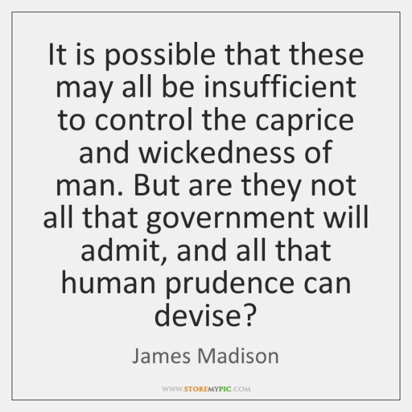 It is possible that these may all be insufficient to control the ...