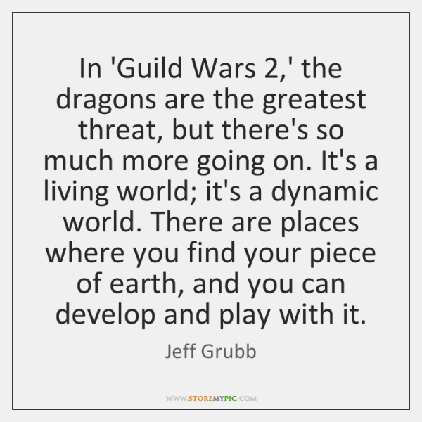 In 'Guild Wars 2,' the dragons are the greatest threat, but there's ...