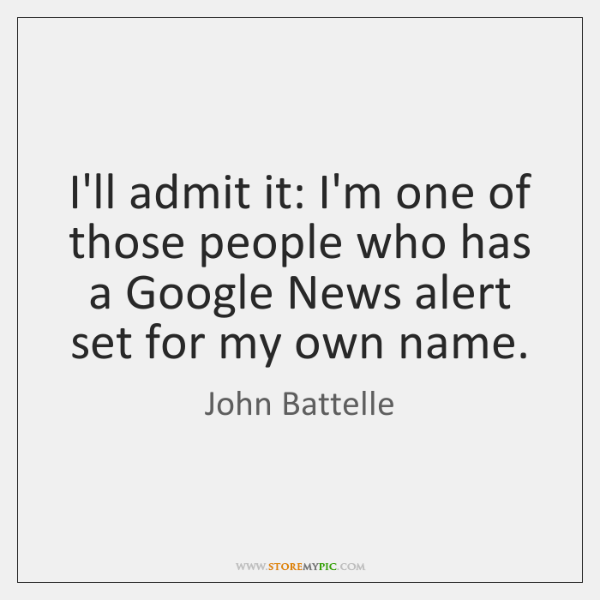 I'll admit it: I'm one of those people who has a Google ...