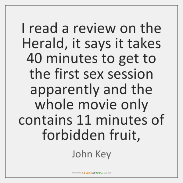 I read a review on the Herald, it says it takes 40 minutes ...