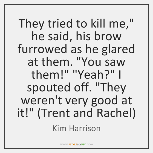 "They tried to kill me,"" he said, his brow furrowed as he ..."