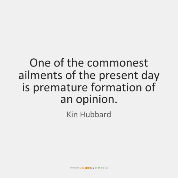 One of the commonest ailments of the present day is premature formation ...