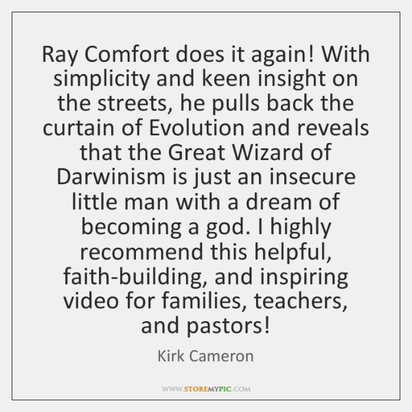Ray Comfort does it again! With simplicity and keen insight on the ...