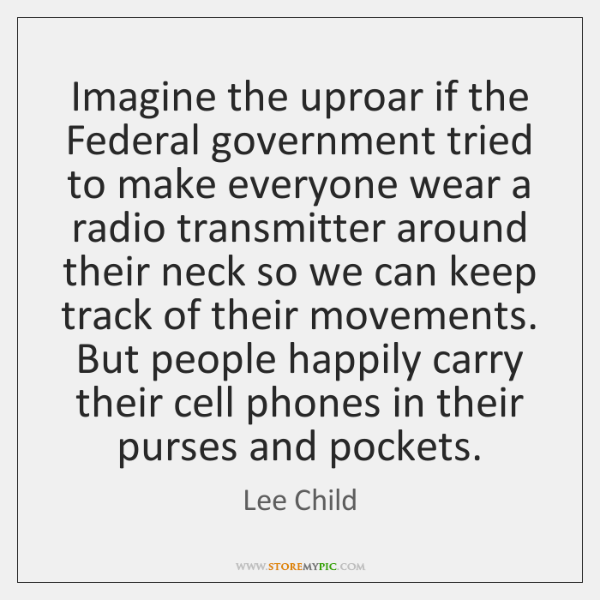 Imagine the uproar if the Federal government tried to make everyone wear ...